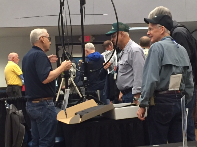 New Loop Antenna was a big Hit at SEA-PAC ham radio show.